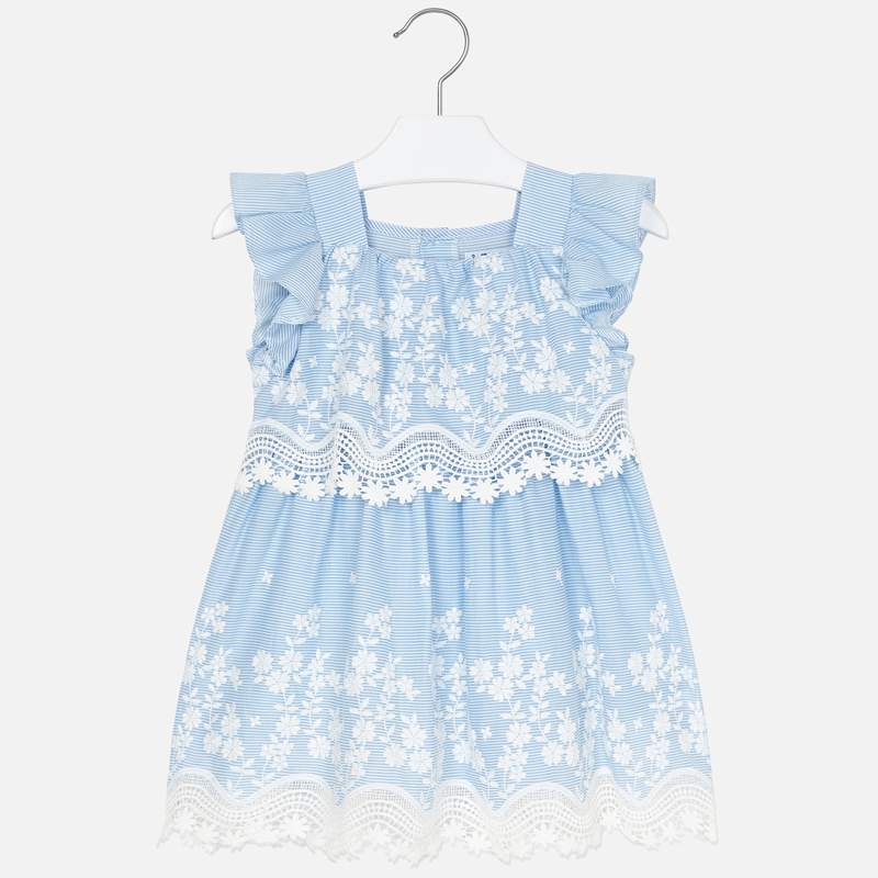 Mayoral Dress Light Blue (3952)