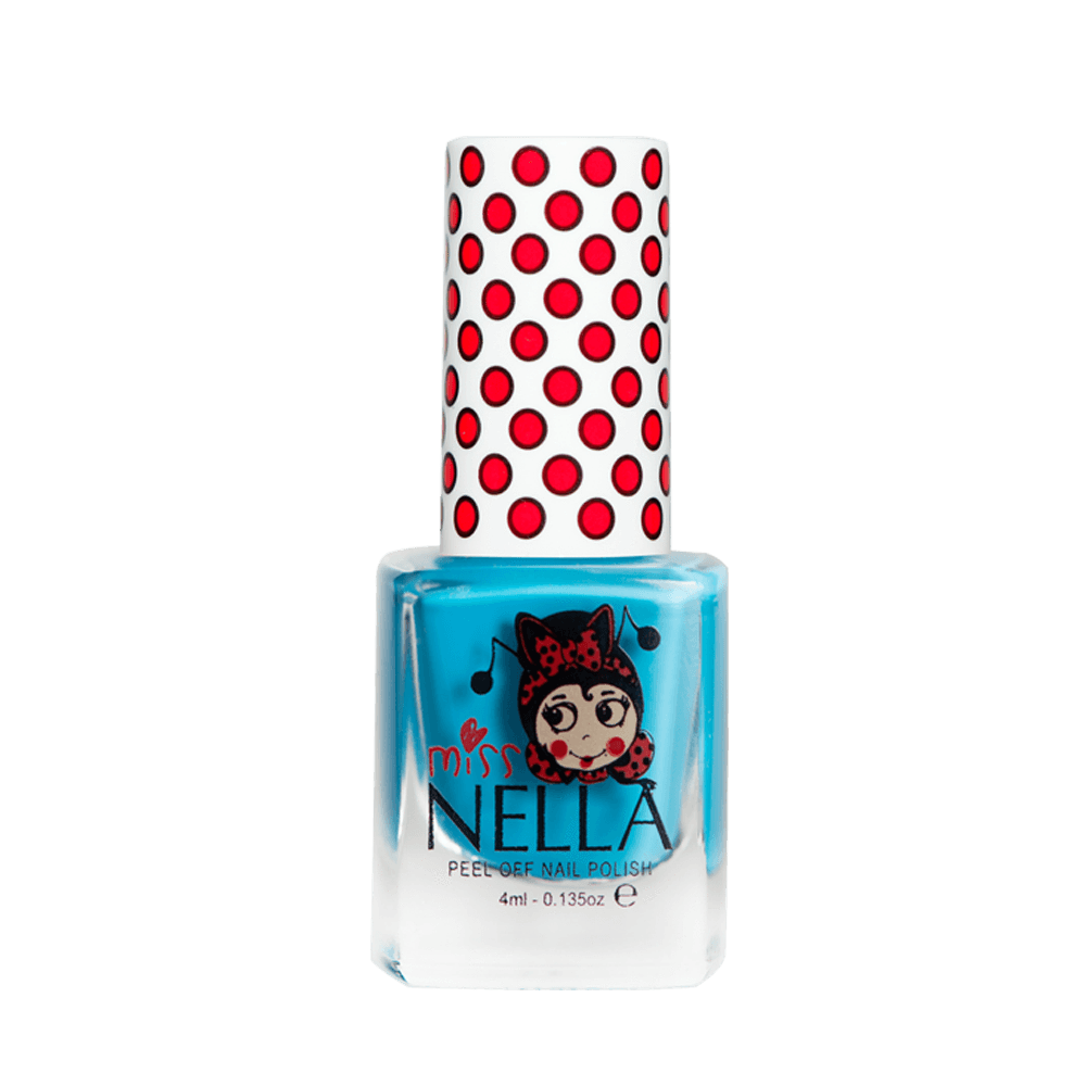 Miss Nella Peel Off Nail Polish - Mermaid Blue