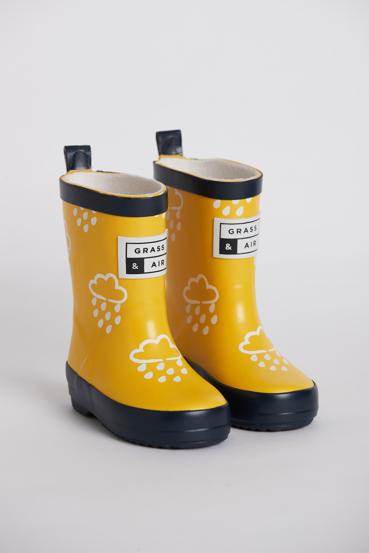 Grass & Air Colour Revealing Wellies - Yellow