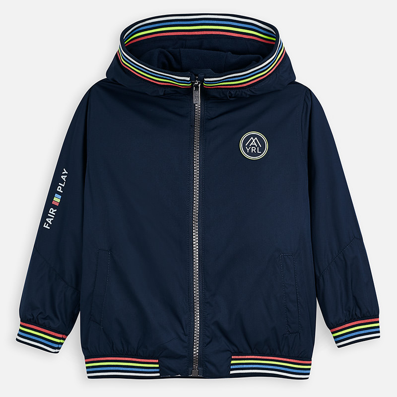 NOW £35 Mayoral Windbreaker Jacket Navy (3455)