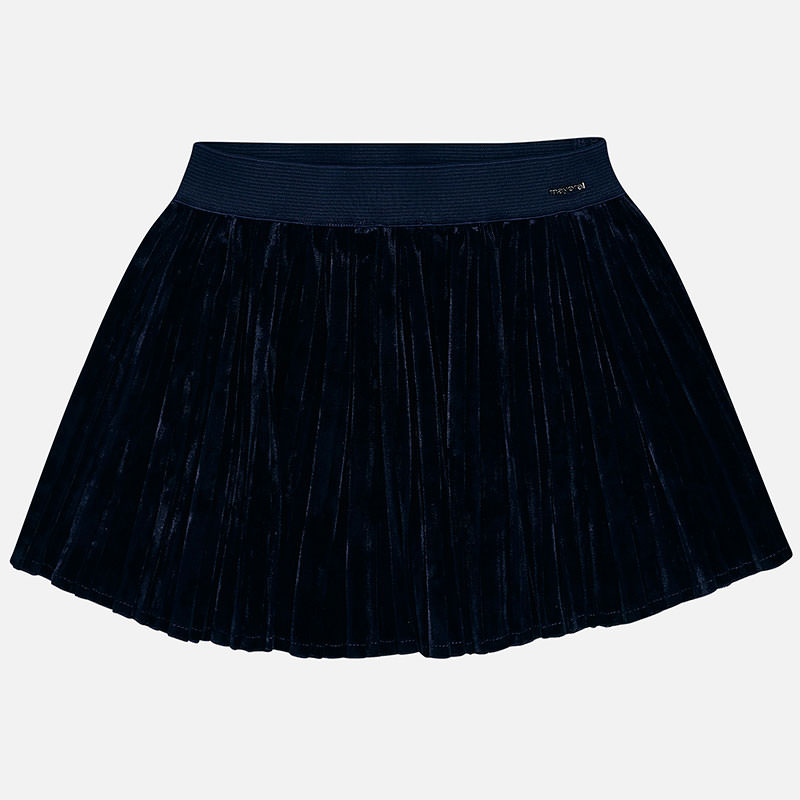 WAS £26.50 Mayoral Pleated Skirt Navy (4912)