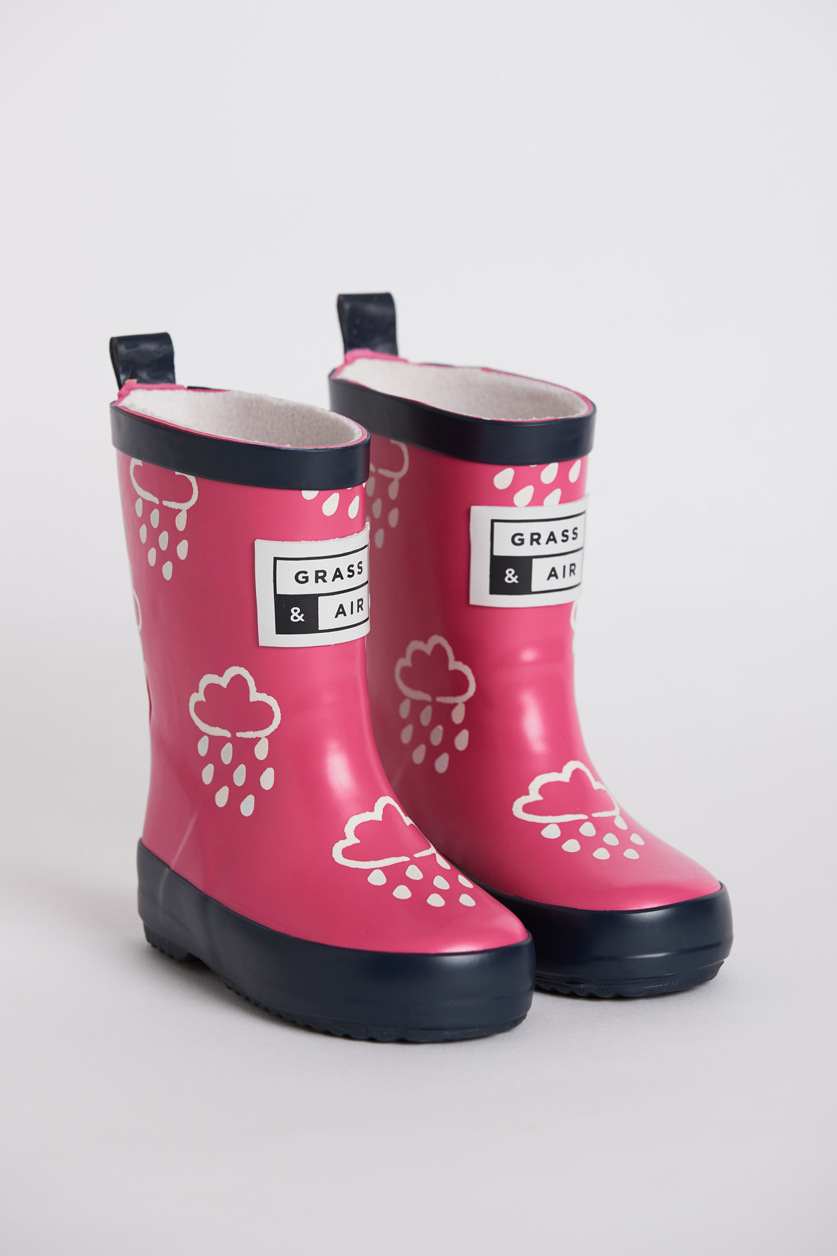 Grass & Air Colour Revealing Wellies - Pink