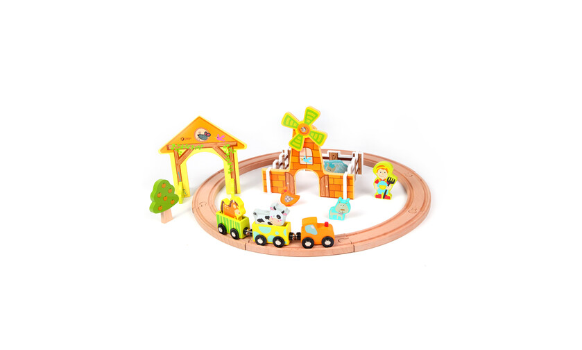 Classic World train set