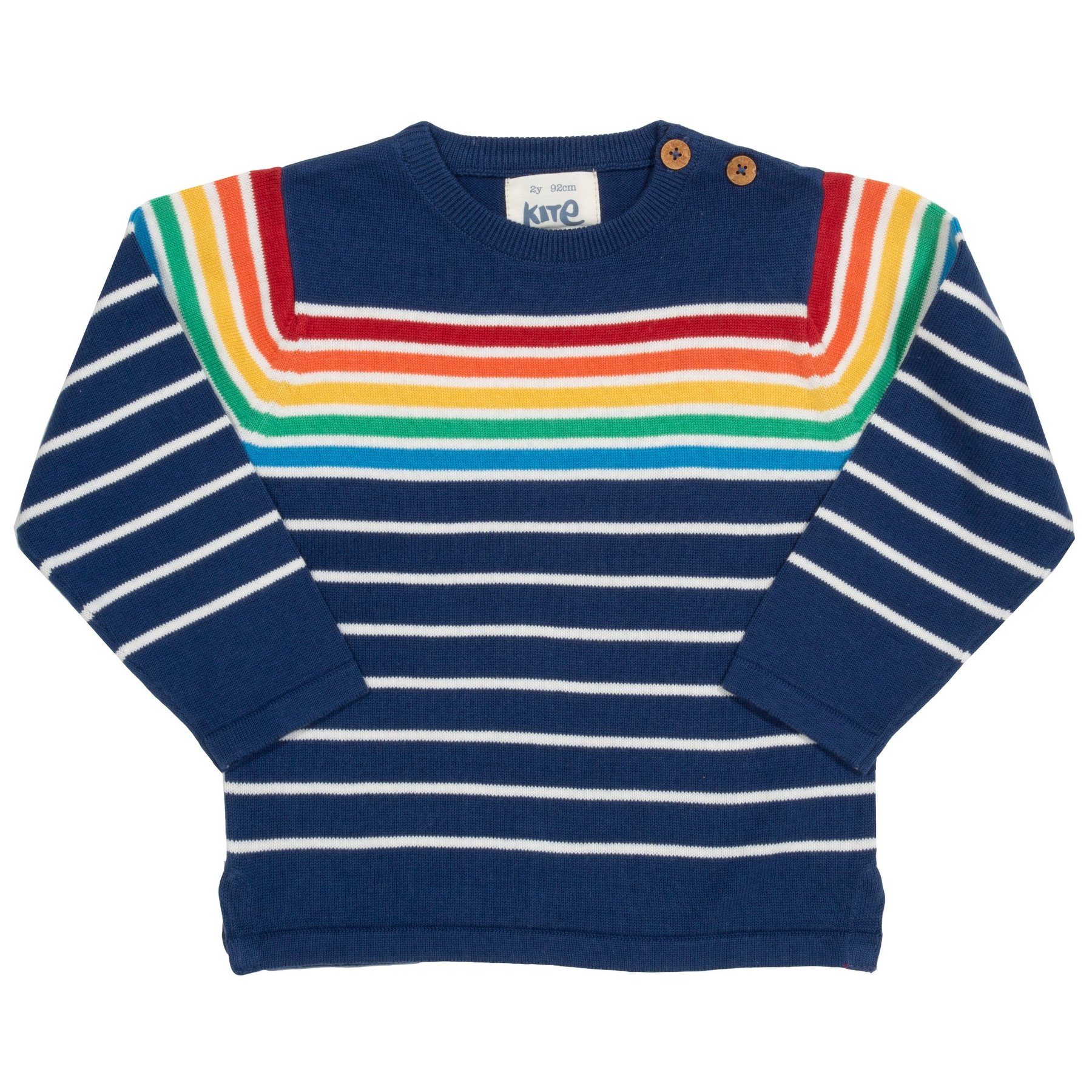 NOW £23.20 Kite Retro Rainbow Jumper