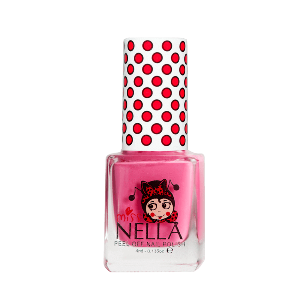 Miss Nella Peel Off Nail Polish - Pink A Boo