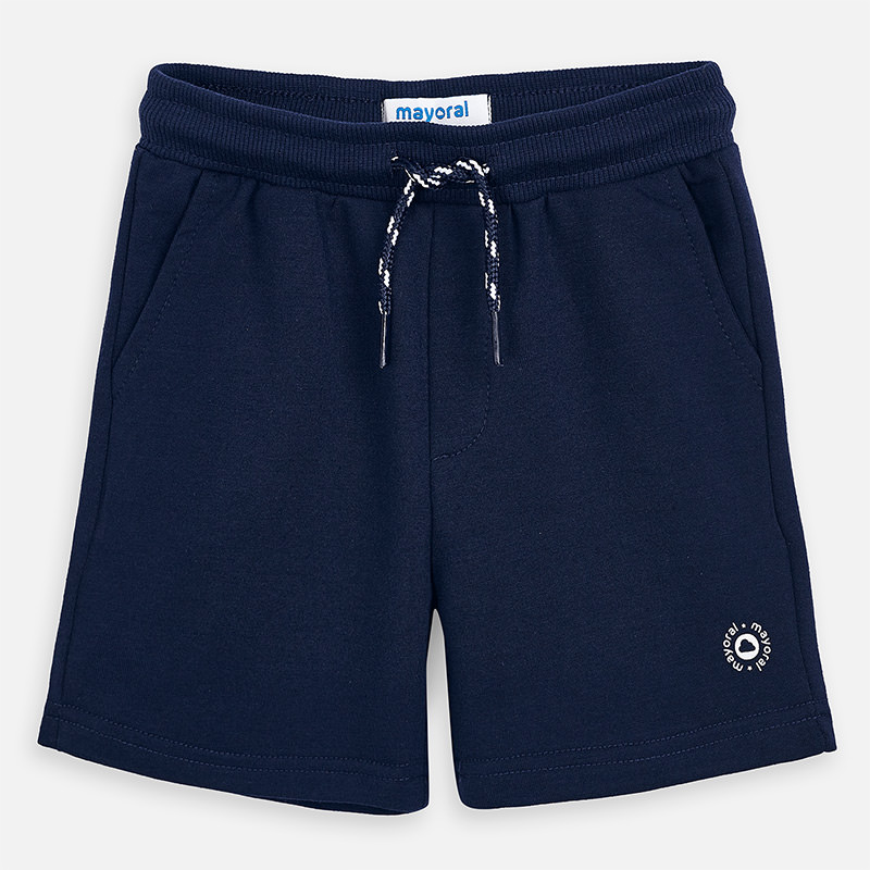 Mayoral Fleece Shorts Navy (611)
