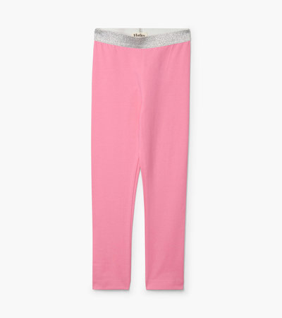 Hatley Pink Embellished Waist Leggings