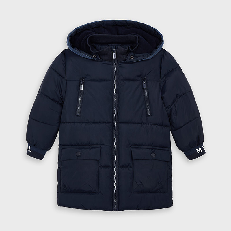 Mayoral Long Padded Jacket Navy (4479)