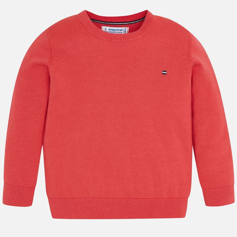 NOW £10 Mayoral Crew Neck Sweater Coral (311) (was £21)