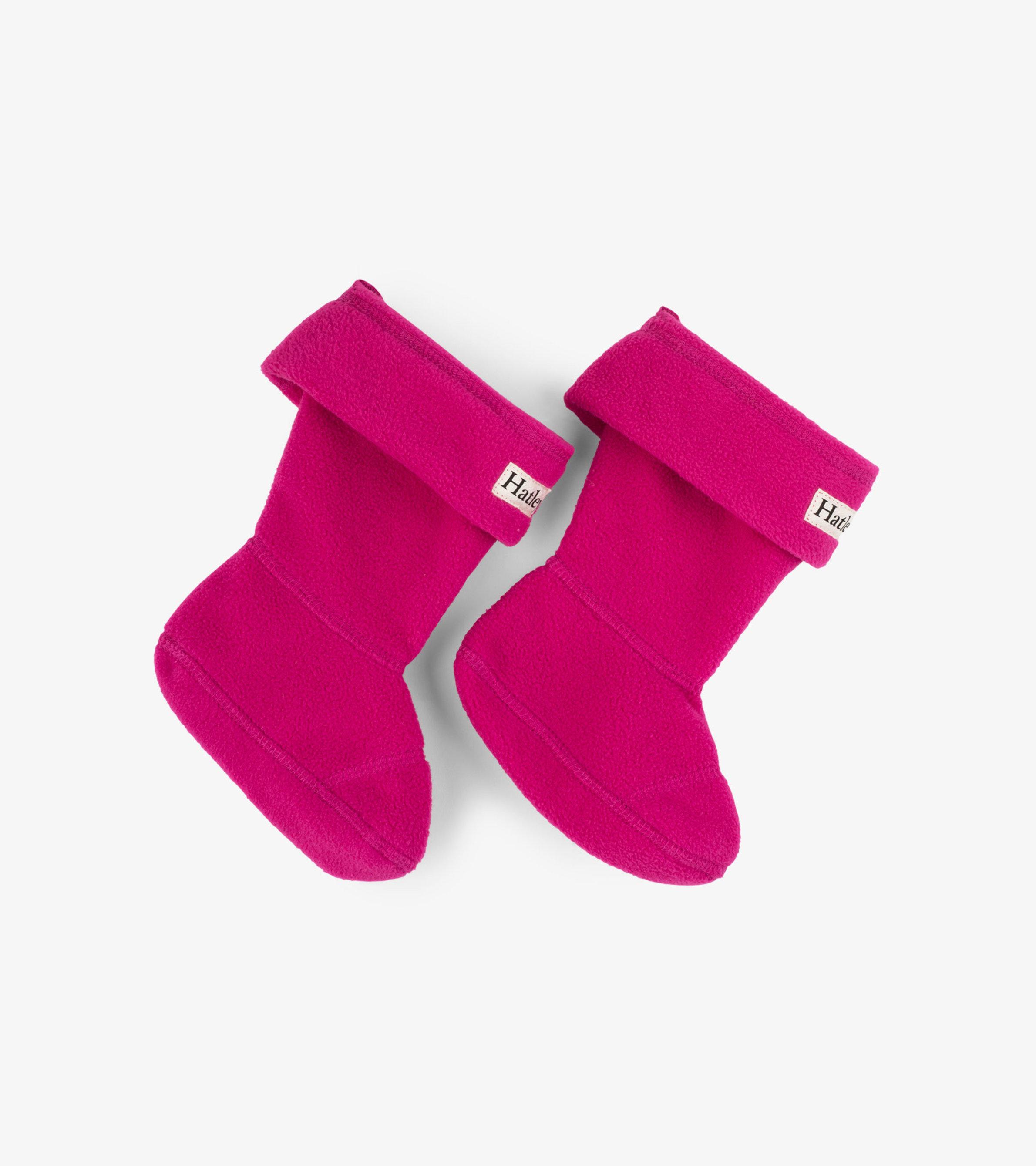 Hatley Boot Liners Magenta