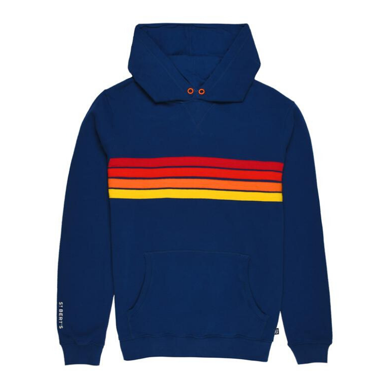 WAS £60.00 St Bert's Adult Pullover Hoodie - Twilight Blue