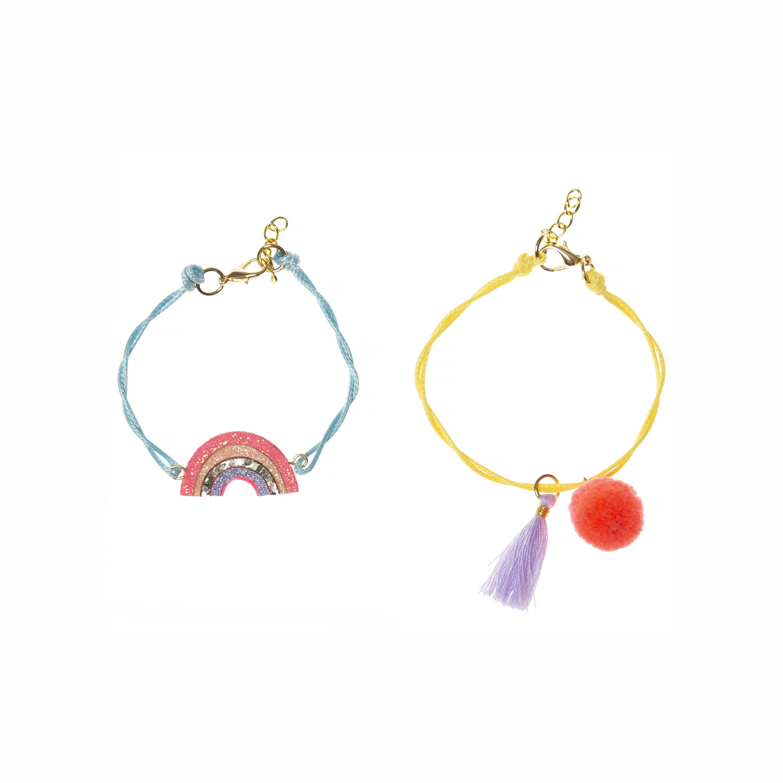 Rockahula Sherbet Dip Rainbow Bracelet Set