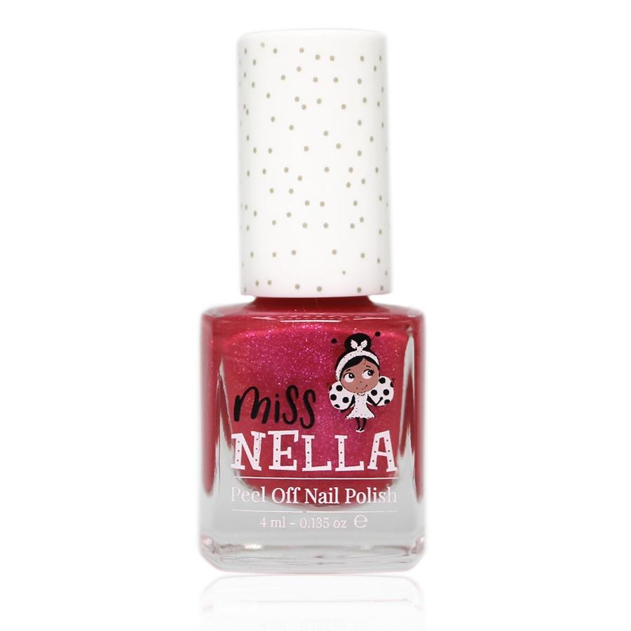 Miss Nella Peel Off Nail Polish - Tickle Me Pink