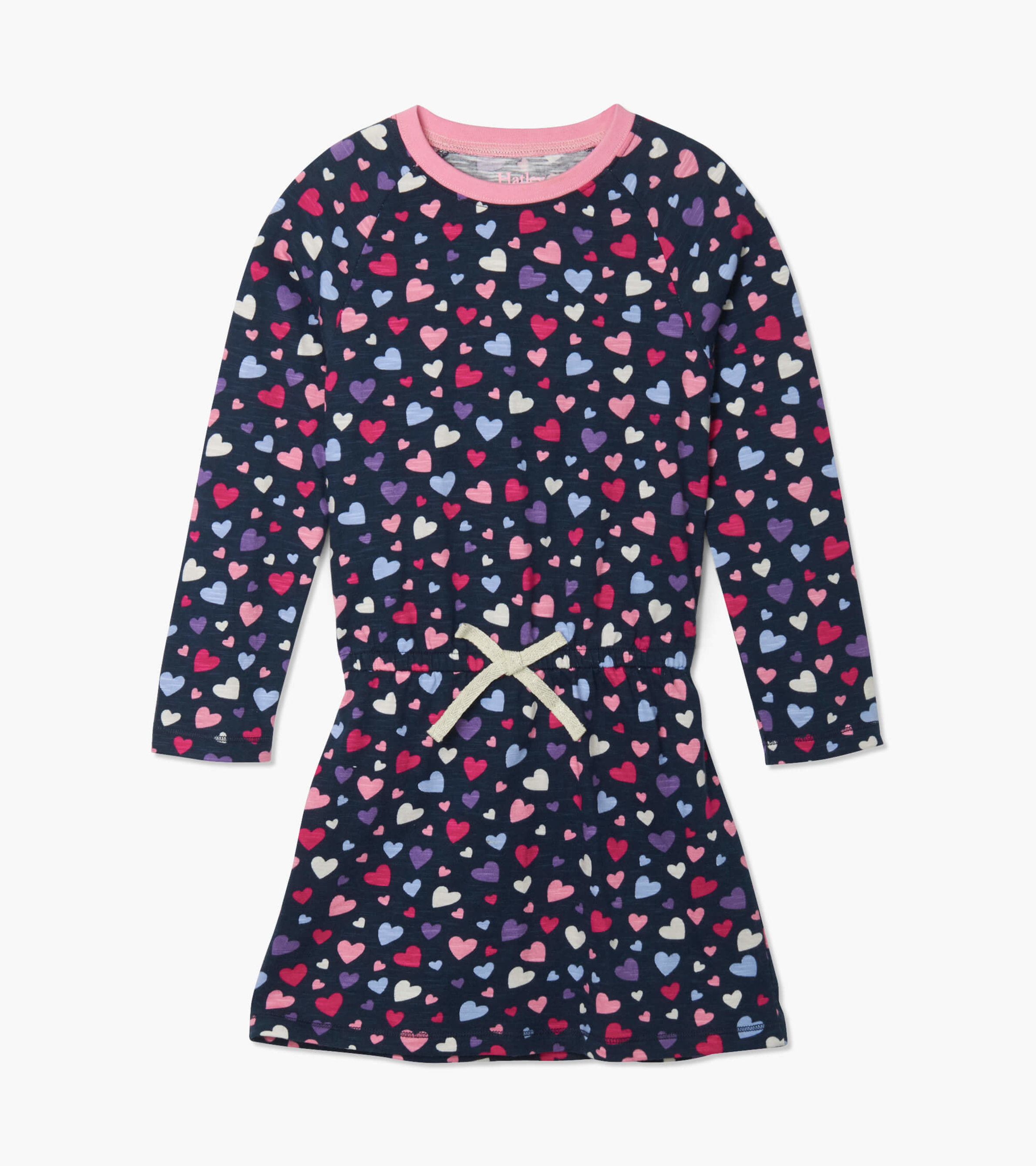 Hatley Hearts Drop Waist Dress