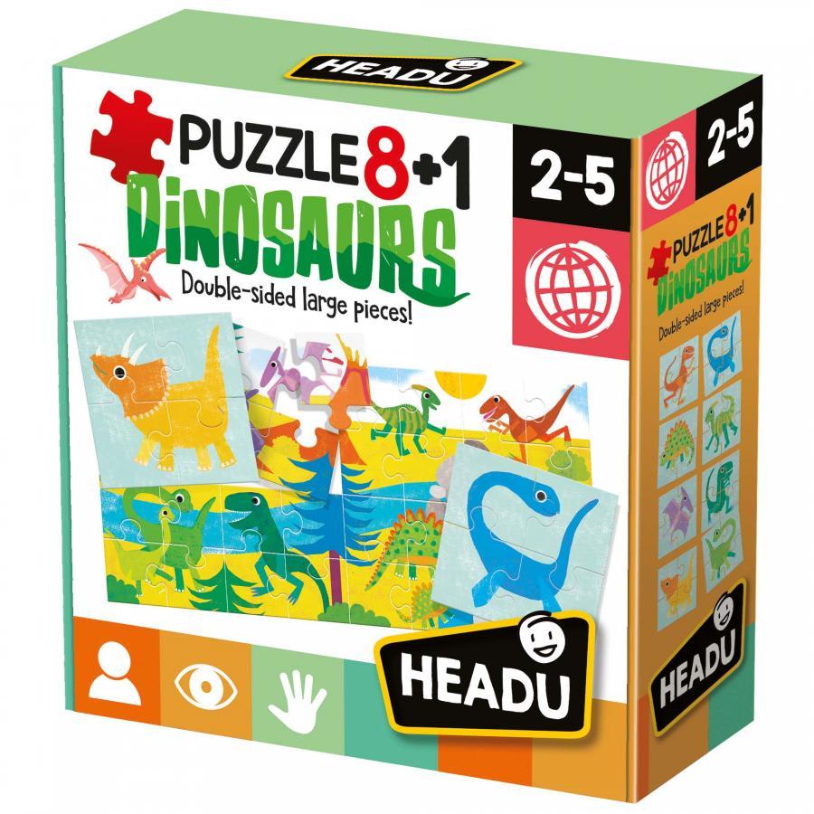 Headu 8+1 Dinosaurs