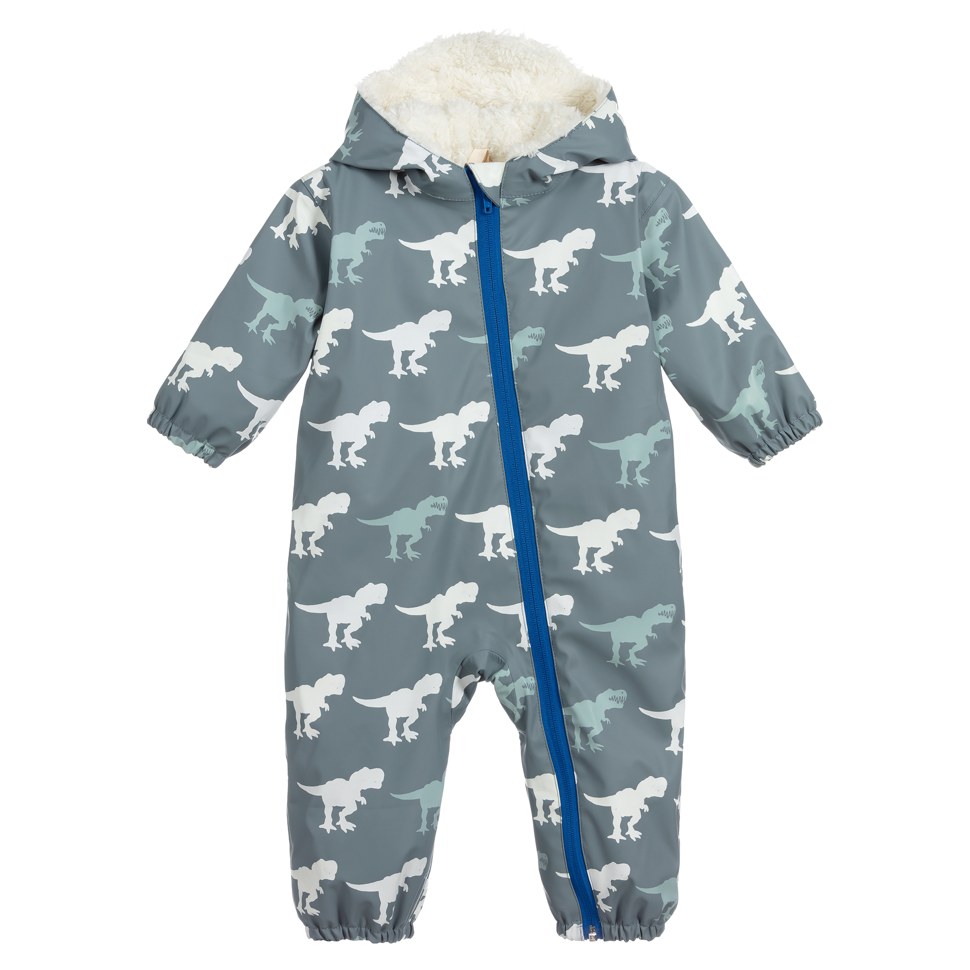 Hatley T-Rex Sherpa Lined Colour Changing Baby Bundler