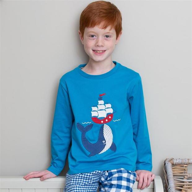 Kite Pirate Whale T-Shirt (Was £22)