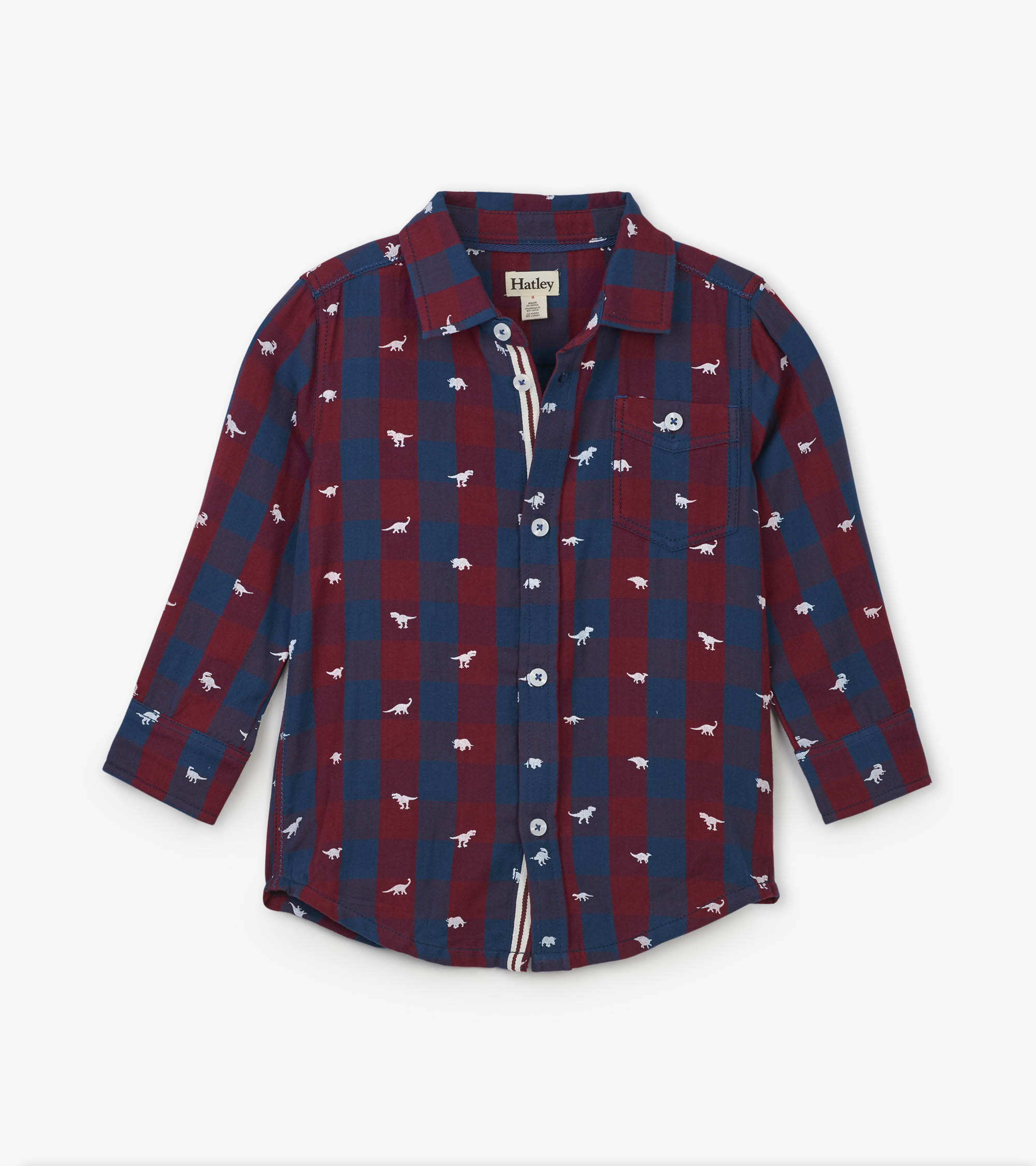 WAS £29.00 Hatley Silhouette Rex Button-Down Shirt