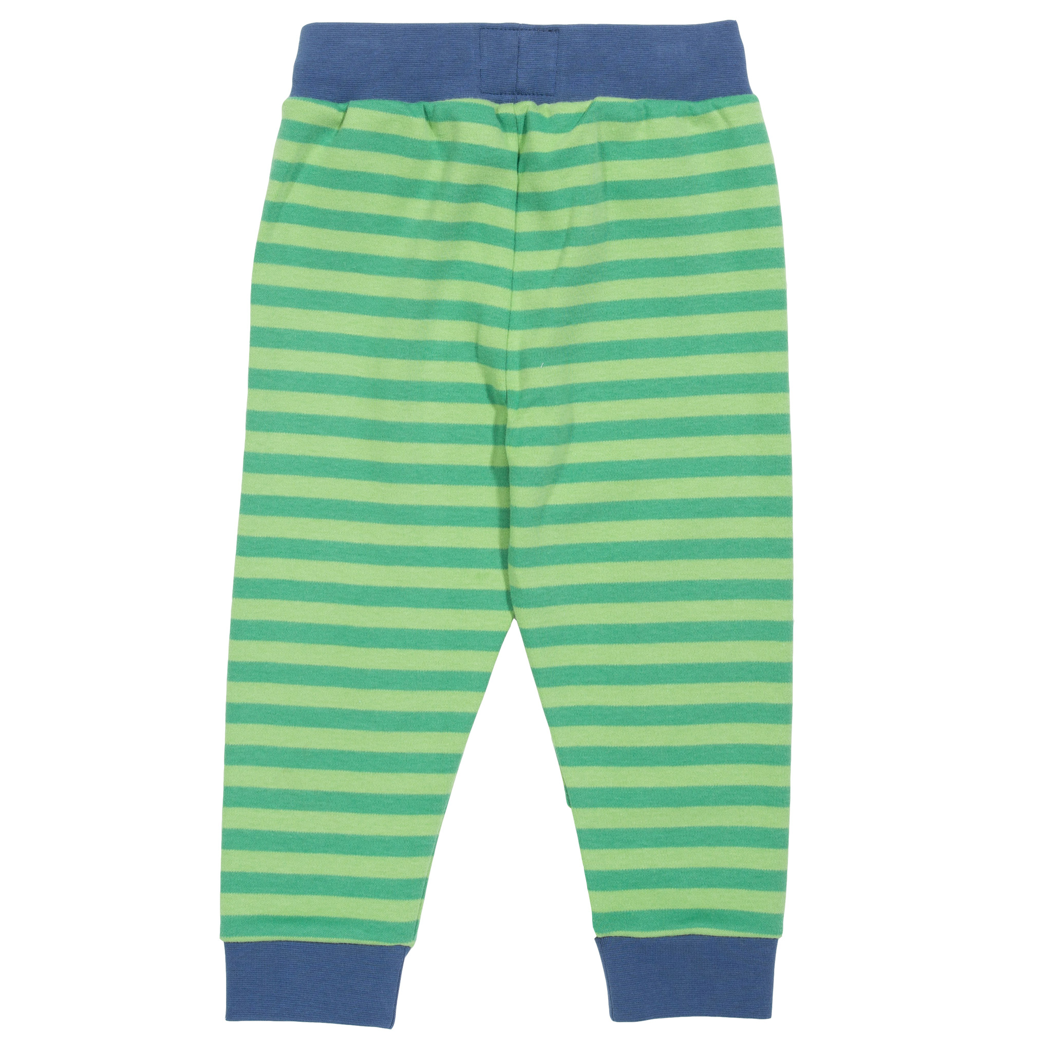 Kite Stripy Joggers-Green (was £26.00)