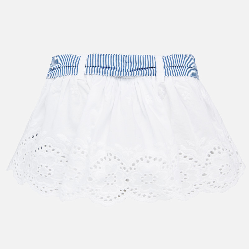 NOW £11 Mayoral Skirt White (1901) (Was £23)