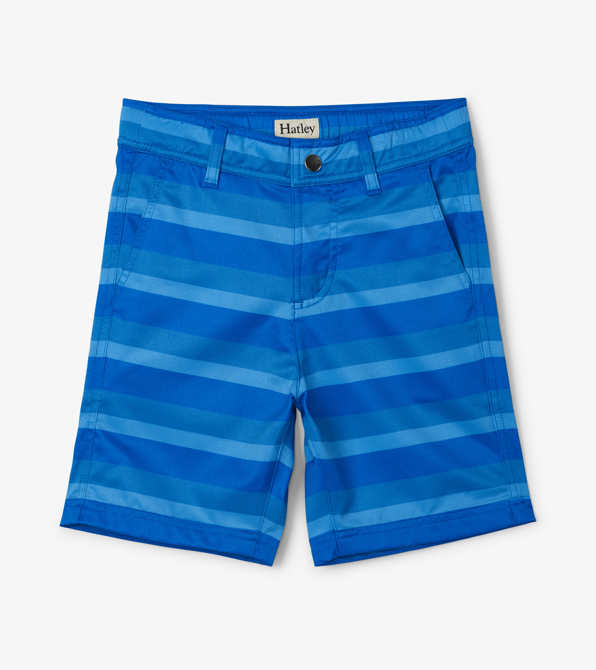 NOW £20 Hatley Stripe Quick Dry Shorts Blue