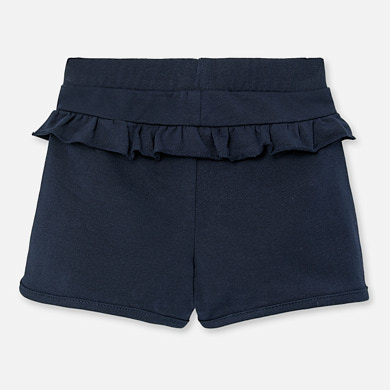 NOW £8 Mayoral Ruffled Shorts Navy (1204)