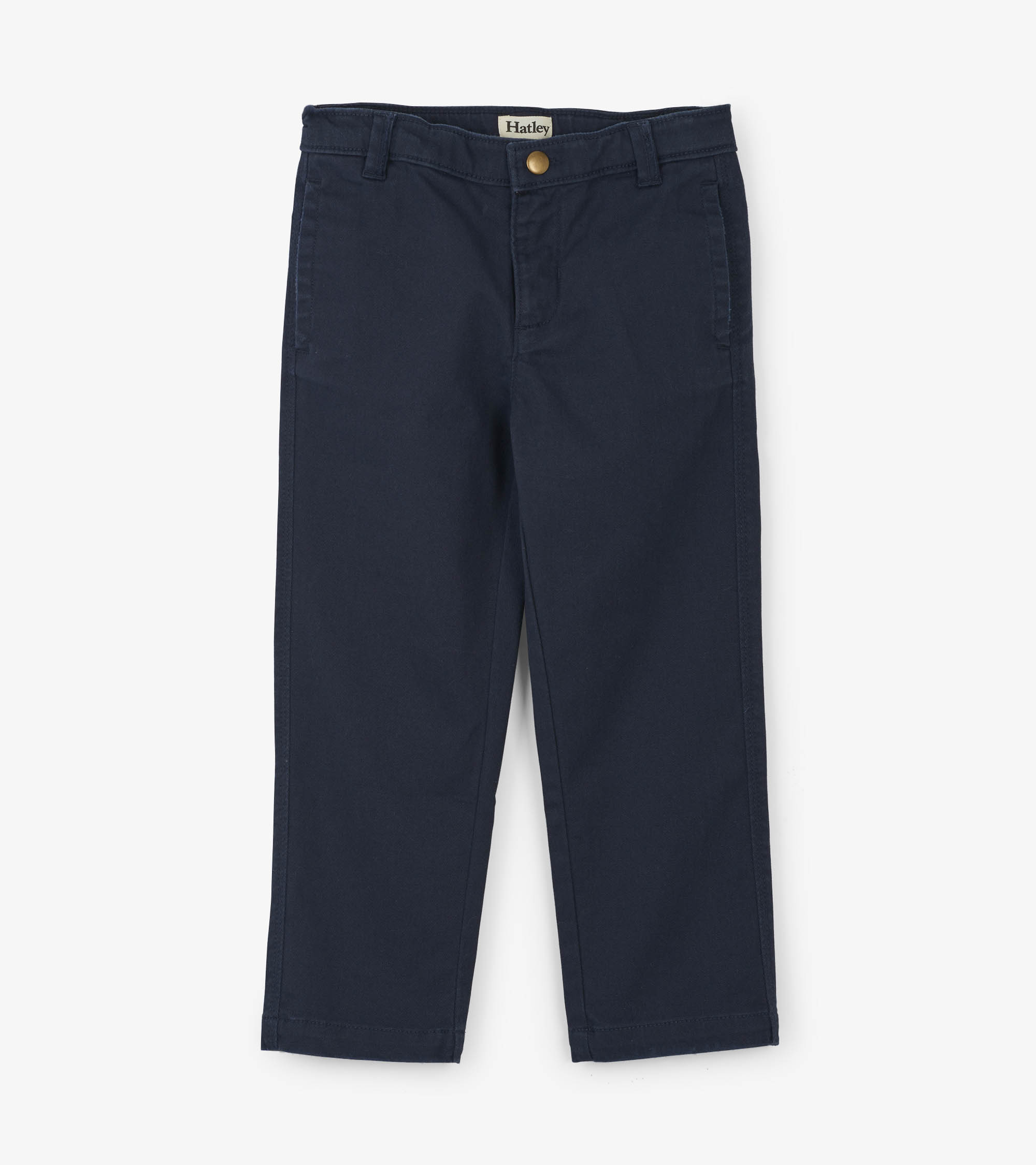 NOW £12 Hatley Stretch Twill Trousers Navy (Was £24)