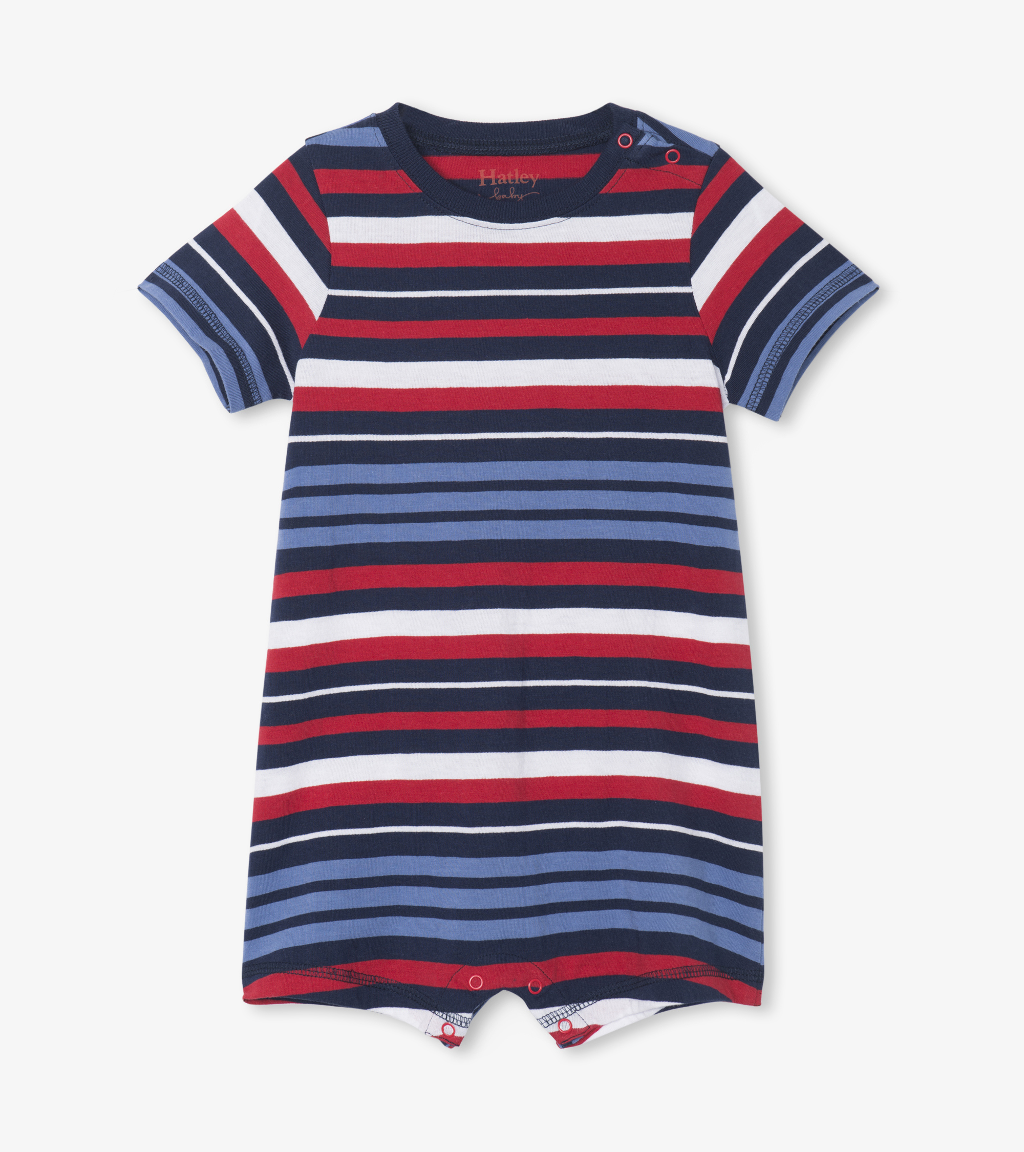 Hatley Nautical Stripe Baby Romper