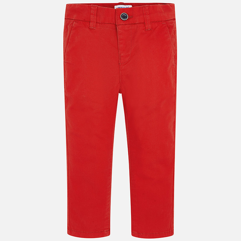 NOW £11 Mayoral Chino Trousers Red (512) (was £23)