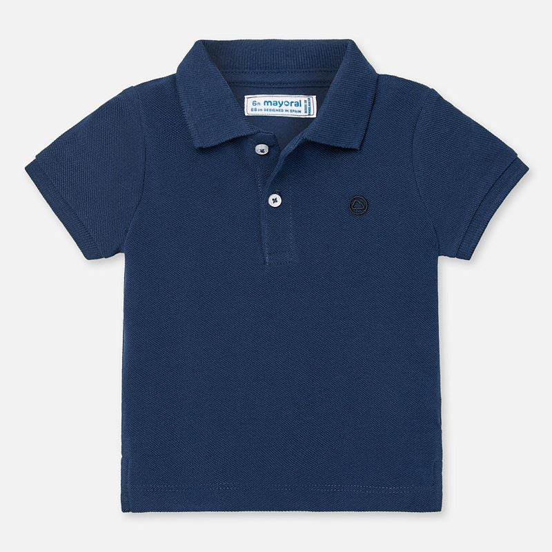Mayoral Basic Short Sleeve Polo Navy (102)