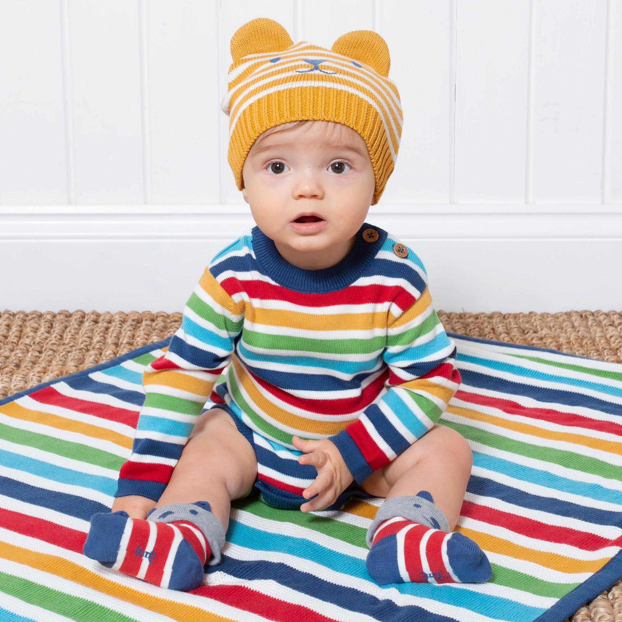 Kite Bright Stripe Knit Bodysuit (was £25.00) ie