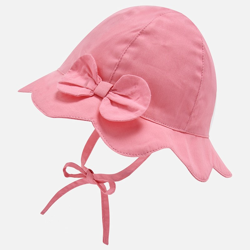 Mayoral Hat Wave Trim Pink (9257)