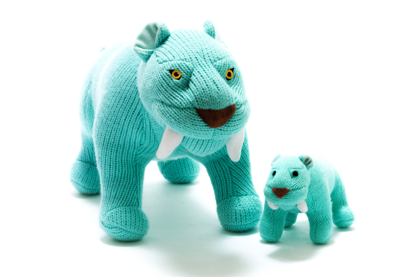 Best Years Knitted Sabre Tooth Tiger