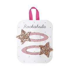 Rockahula Star Burst Glitter Clips