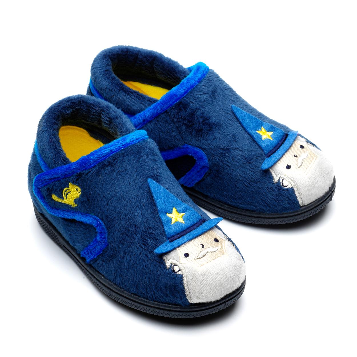 Chipmunks Abracadabra Wizard Navy Slippers