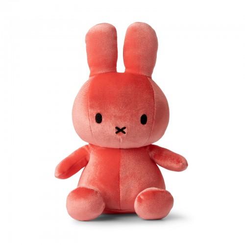 Miffy Sitting Velvet Candy Pink - 23 cm - 9