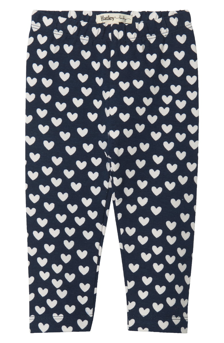 Hatley Heart Cluster Baby Leggings (Was £18)