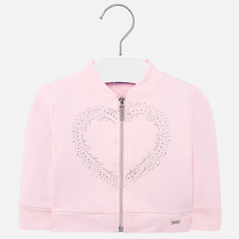 Mayoral Zip Jacket Pink (1472)