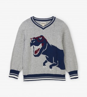 NOW £15 Hatley Cool Rex V-Neck Sweater (Was £30)