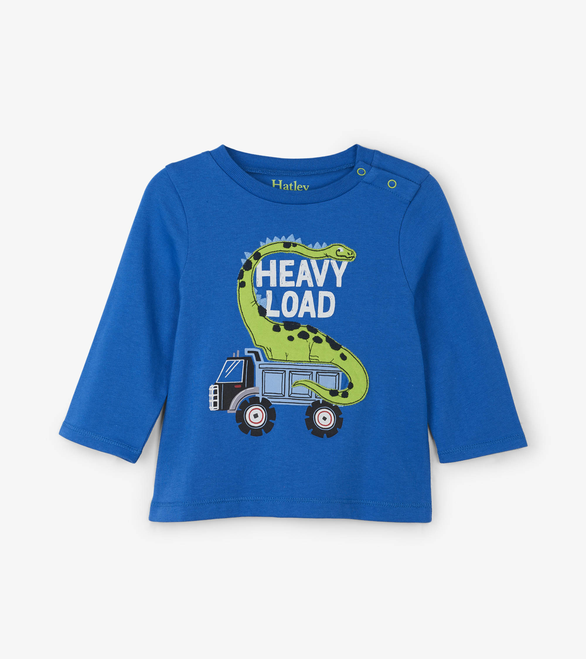 WAS £17.00 Hatley Dino Construction Long Sleeve Baby Tee