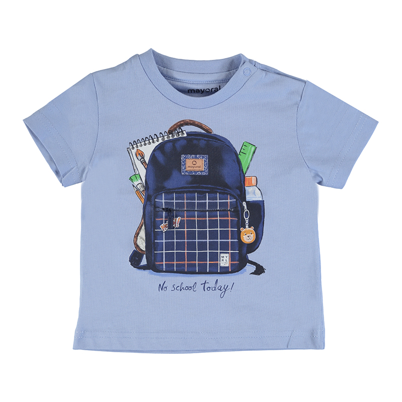 Mayoral T-Shirt-Pale Blue 1011