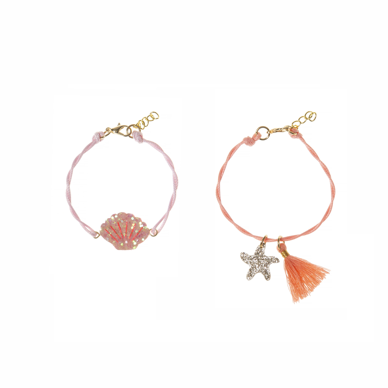 Rockahula Shimmer Shell Bracelet Set