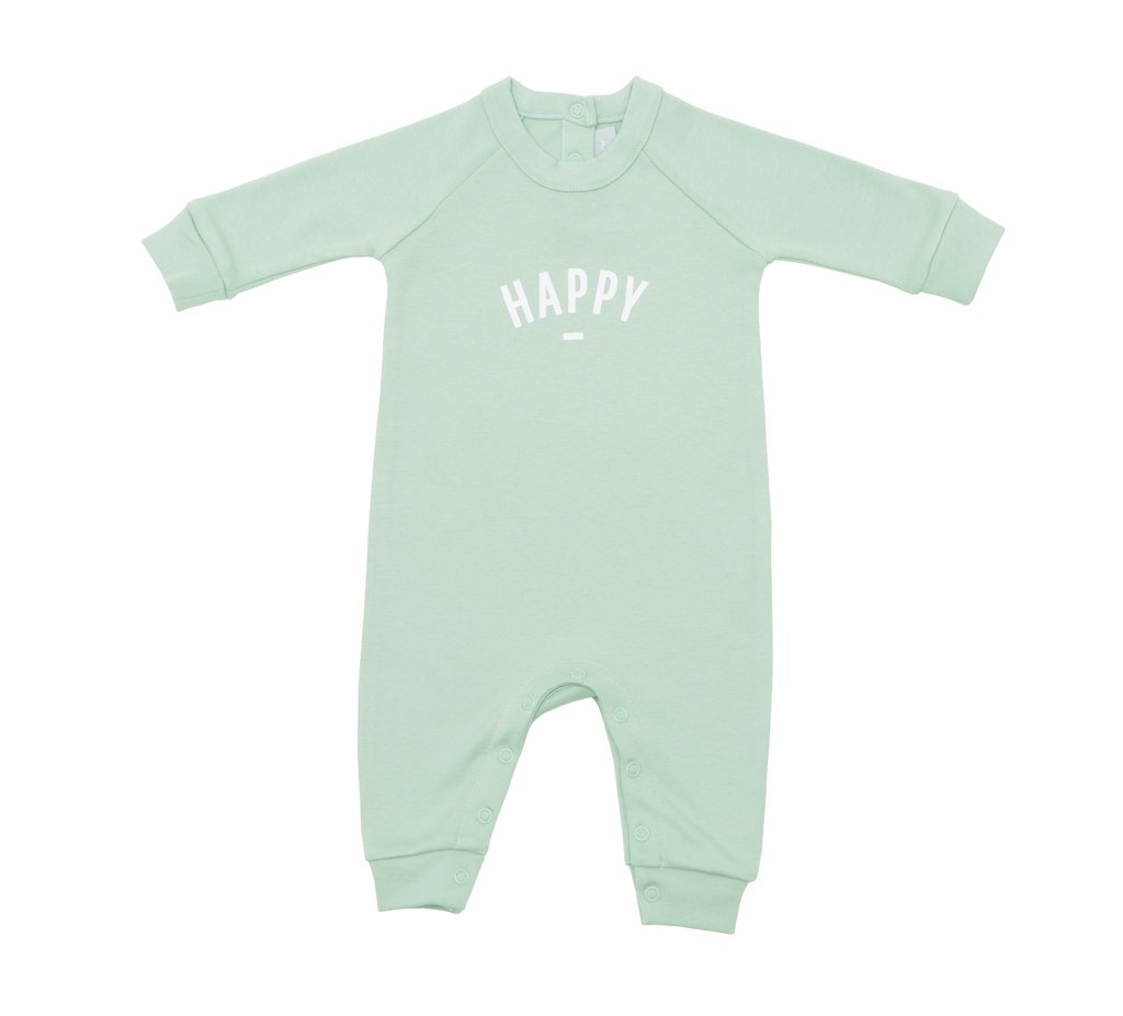 Bob & Blossom 'Happy' All In One - Soft Mint Green