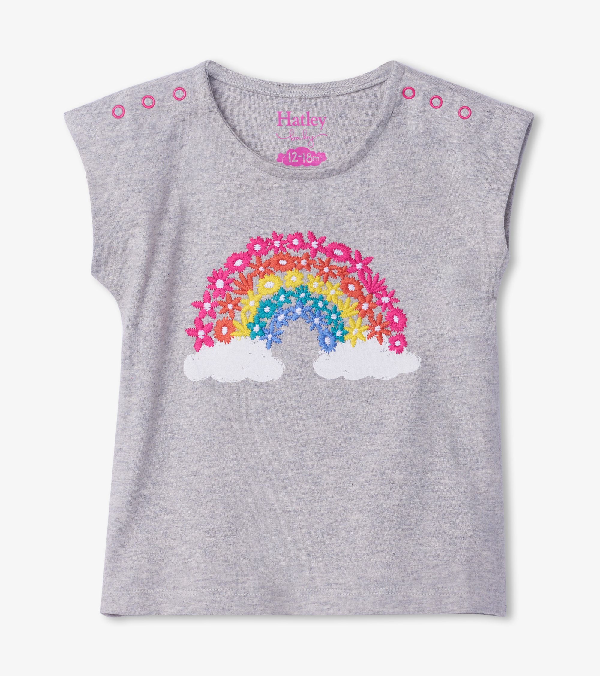 NOW £13.60 Hatley Magical Rainbow Baby Tee