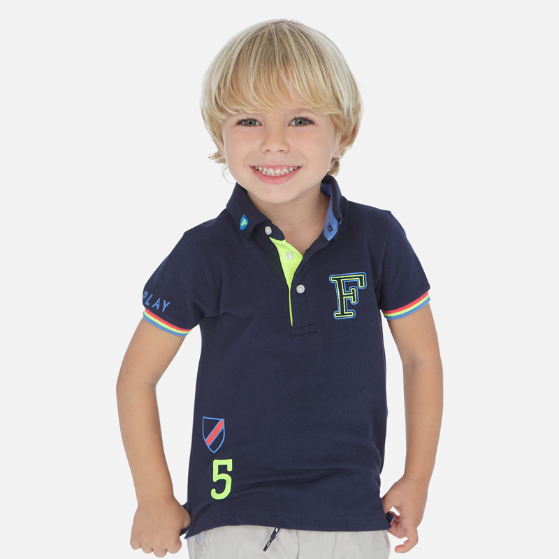 NOW £11 Mayoral Short Sleeved Polo Shirt Navy (3154)(was £23)