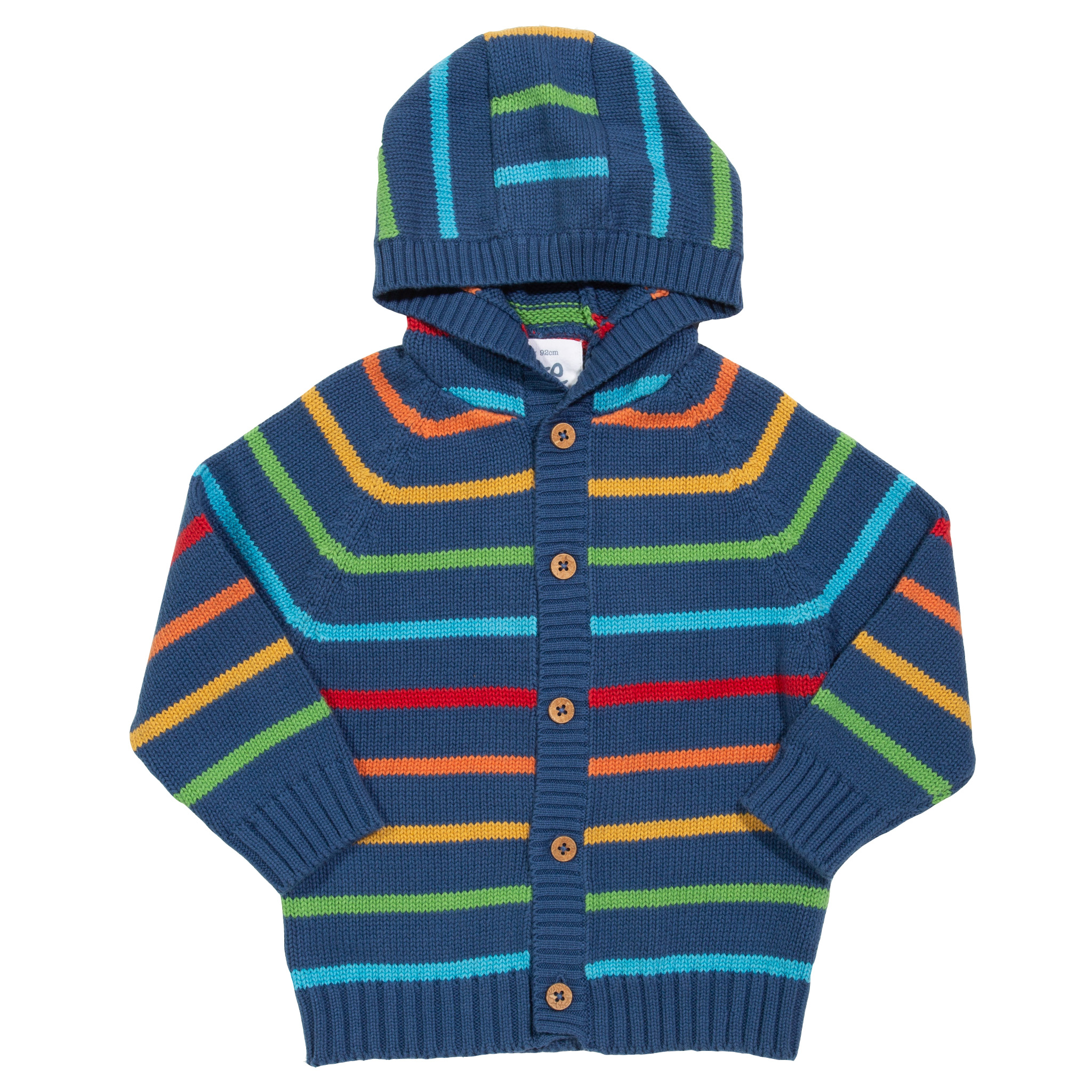 Kite Stripy Knit Hoody (was £34.00)