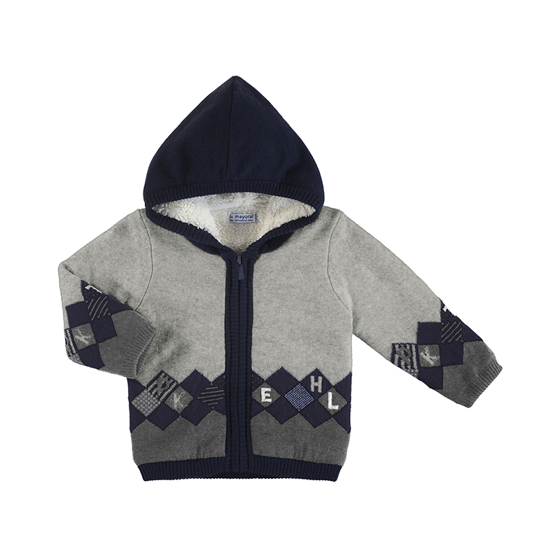 Mayoral Hooded Zip Up (2355)