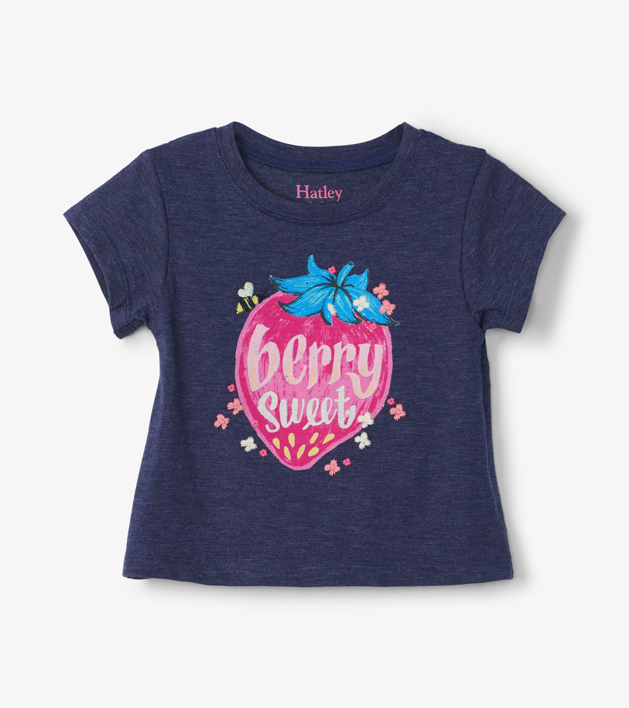 Hatley Strawberry Baby Tee