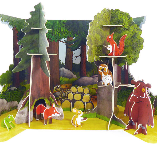 The Gruffalo Pop-out Playset
