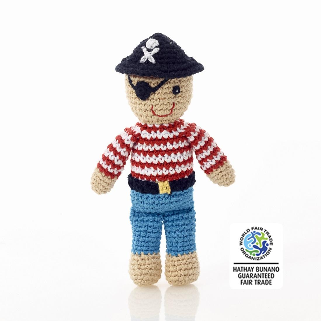 Best Years Pirate Rattle